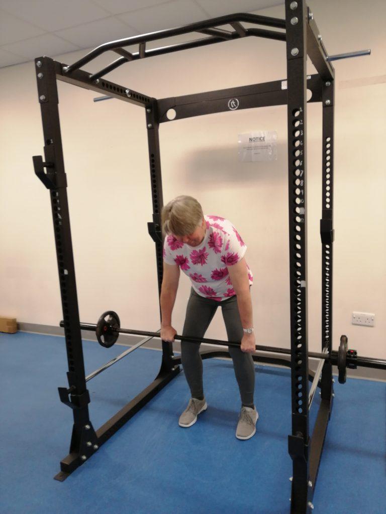 Sue Woodriffe - Weightlifting